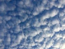起泡的天空 库存照片