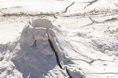 起泡的泥国家公园罐黄石 库存照片