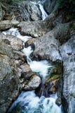 起泡的溪秋天 免版税库存照片