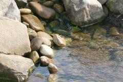 起泡的溪 免版税图库摄影