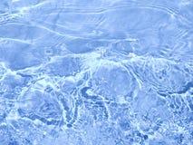起波纹的水 免版税库存图片