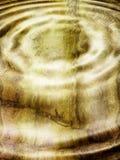 起波纹的水 图库摄影
