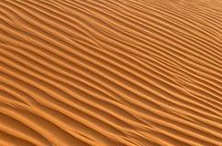 起波纹的沙子 图库摄影