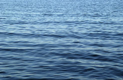 起波纹的水 库存图片