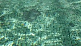 起波纹的水 影视素材