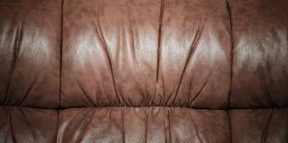 起皱纹的皮革纹理 库存图片