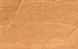 起皱纹的纸作为背景 库存照片