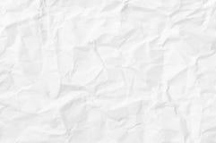 起皱纹的纸纹理 库存照片
