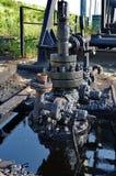 起重器泵浦细节  库存图片