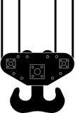 起重机升降机异常分支端口海运 免版税库存照片