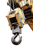 起重机异常分支 免版税图库摄影