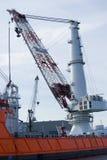 起重机最大的世界 免版税库存照片