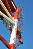 起重机梯子 免版税库存照片