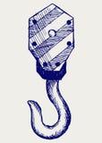 起重机的异常分支 库存照片