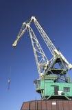 起重机造船厂 库存图片