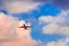 起飞空中客车A319 HB-IPU瑞航 免版税图库摄影