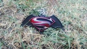 超人对蝙蝠侠 库存照片