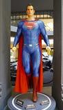 超人雕象 免版税库存图片