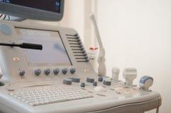 超声波诊断设备 库存照片