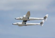 超大骑士飞机处女白色 免版税库存图片