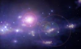 超新星 库存图片