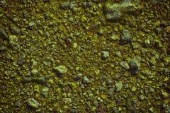 超橙色地面在火星,土地纹理,沙子表面,石背景喜欢 库存图片