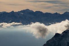 超现实的云彩大气 库存图片