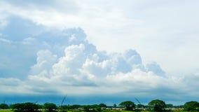 超现实的云彩 免版税图库摄影