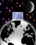 超现实的向量万维网宽世界 免版税图库摄影