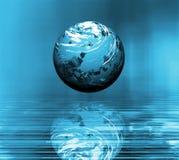 超现实的地球 免版税库存照片