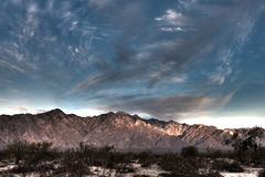 超现实的沙漠 免版税图库摄影