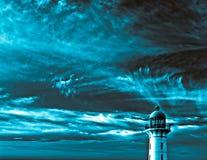 超现实的灯塔 免版税库存照片