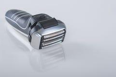 超现代5把刀片电箔弧剃具 免版税图库摄影