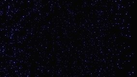 超空间跃迁通过对遥远的空间的星 在圈的抽象蠕虫孔隧道 无限移动通过 库存例证