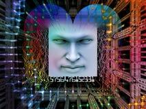 超级人AI领土  库存图片