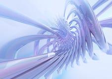超级动态的螺旋 库存图片