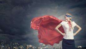 超级妇女 库存照片