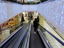 超级市场入口conad 图库摄影