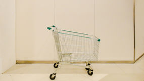超级市场推车 库存照片