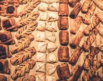 超级市场的面包店 库存照片