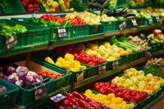 超级市场菜 免版税库存照片