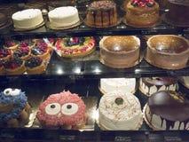 超级市场蛋糕选择在圣菲新墨西哥美国 库存图片