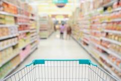 超级市场走道香港 免版税库存图片