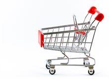 超级市场购物车 免版税库存图片