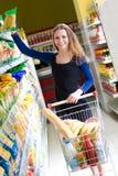 超级市场 免版税库存照片