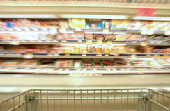 超级市场 库存照片