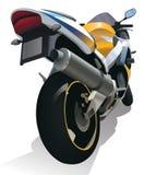 超级摩托车摩托车例证 库存照片