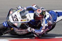超级摩托车2011年 库存照片