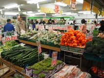 超级新鲜蔬菜 免版税库存照片