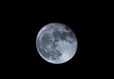 超级月亮天文学事件,罗马尼亚11月2016年, 免版税库存图片